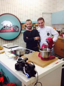 Μέλος  της Λέσχης Αρχιζαχαροπλαστών Ελλάδος στην TV !!!